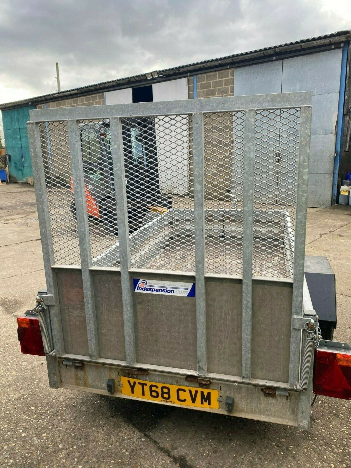 Lot 39 - INDESPENSION HEAVY DUTY TRAILER, DROP DOWN TAILGATE, YEAR 2012 *PLUS VAT*