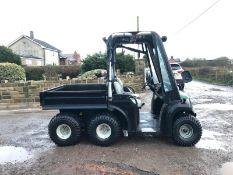 JCB 6X4 GROUNDHOG, YEAR 2008, RUNS, WORKS, TIPS, HYDRAULIC TIPPING BACK, DIFF LOCK, TOW BAR *NO VAT*