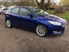 2017/17 REG FORD FOCUS STYLE TDCI 1.5 DIESEL 5DR HATCHBACK, SHOWING 0 FORMER KEEPERS *NO VAT*