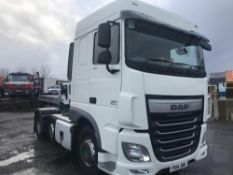 2014/14 REG DAF XF 105.460 6X2 TRACTOR UNIT MANUAL GEARBOX TIPPING GEAR EURO 6 *PLUS VAT*