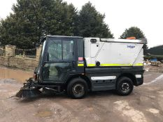 2010/10 REG SCHMIDT SWINGO 200 DIESEL WHITE ROAD SWEEPER, SHOWING 2 FORMER KEEPERS *PLUS VAT*