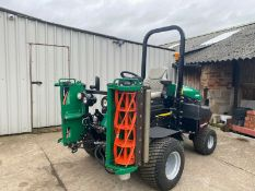 IMMACULATE! RANSOMES PARKWAY 3 TRIPLE CYLINDER MOWER, ONLY 953 HOURS, YEAR 2015, NEW CYLINDERS ETC