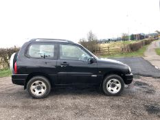 2003/53 REG SUZUKI GRAND VITARA 16V SPORT 4X4 1.6 PETROL, SHOWING 3 FORMER KEEPERS *NO VAT*