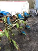 DOWDESWELL DP8B 4 FURROW PLOUGH IN GOOD CONDITION, NO WELD *PLUS VAT*