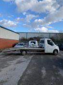 2012/62 REG VAUXHALL MOVANO F3500 L3H1 CDTI 2.3 DIESEL BEAVERTAIL RECOVERY