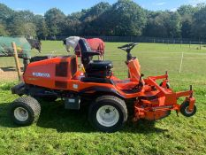 2012 KUBOTA F3680 OUT FRONT 4WD HST MOWER, TURF TYRES, 35 HP DIESEL ENGINE *PLUS VAT*