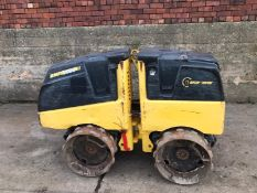 BOMAG TRENCH ROLLER, MODEL BMP8 500, C/W REMOTE CONTROL, KUBOTA DIESEL ENGINE, YEAR 2014 *PLUS VAT*