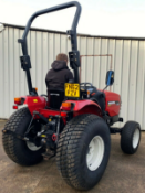 SHIBAURU ST333 COMPACT TRACTOR 4X4 33HP NEAR MINT CONDITION !