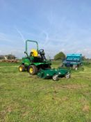 JOHN DEERE 1445 RIDE ON LAWN MOWER WITH FLAIL MOWER, YEAR 2008, RUNS, WORKS AND CUTS *PLUS VAT*