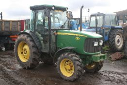 JOHN DEERE 5615F TRACTOR, SHOWING 4073 HOURS, GOOD CONDITION, GOOD YEAR TYRES, READY FOR WORK