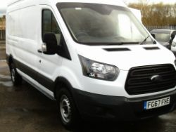 67 REG FORD TRANSIT 350 LWB HI-ROOF 130 BHP PANEL VAN, JCB FM25 LAWN MOWER, HORSEBOX, TRACTORS, WHEEL LOADERS, FORKLIFTS ETC ENDS 7pm THURSDAY!