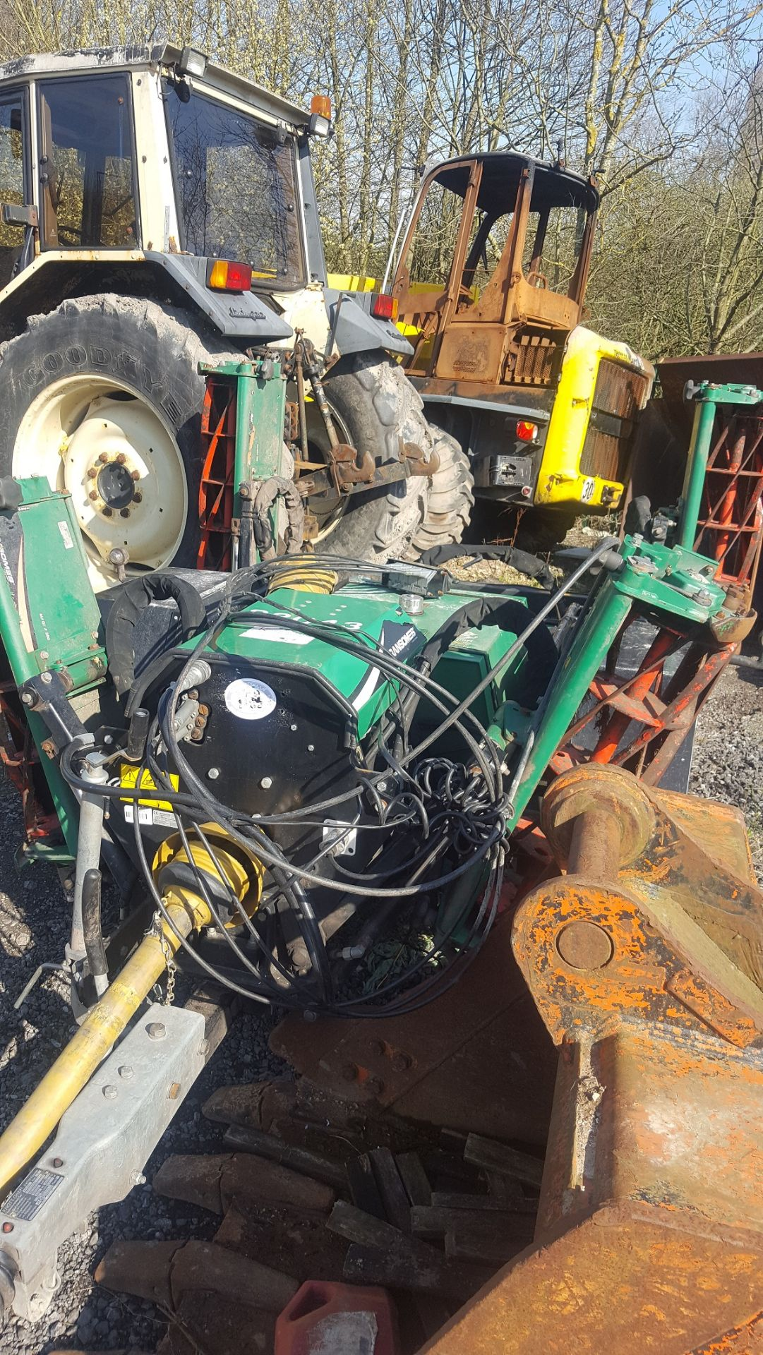 Lot 209 - YEAR UNKNOWN RANSOMES TG3400 6K FIXED TRAILED GANG MOWER, 1750KG *PLUS VAT*