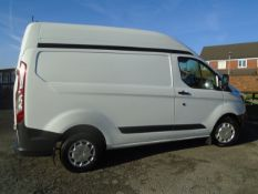 2016/16 REG FORD TRANSIT CUSTOM 270 ECO-TECH 2.2TDCI (125PS) HIGH ROOF L1H2 IDEAL FOR CHILLING