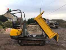 LIFTON / NEUSON TD15 TRACKED 3-WAY TIPPER DUMPER, RUNS, WORKS AND TIPS, SHOWING 829 HOURS *PLUS VAT*