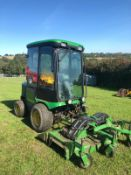 JOHN DEERE 1545 RIDE ON LAWN MOWER WITH FULL CAB, YEAR 2006, RUNS, WORKS AND CUTS *PLUS VAT*