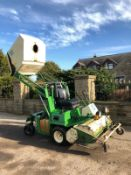 AMAZONE PROFIHOPPER RIDE ON LAWN FLAIL MOWER, ONLY 913 HOURS, RUNS, WORKS AND CUTS WELL *PLUS VAT*
