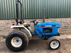 1994/M REG FORD NEW HOLLAND 1520 BLUE DIESEL COMPACT DIESEL TRACTOR *PLUS VAT*