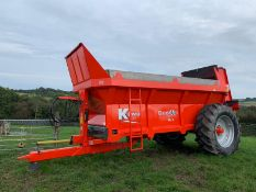 BRAND NEW 12 TONNE KTWO MUCK SPREADER, NEVER BEEN USED *PLUS VAT*
