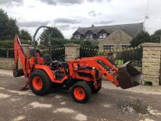 KUBOTA B2110 COMPACT TRACTOR, RUNS AND WORKS WELL, 4 WHEEL DRIVE, LOW HOURS *PLUS VAT*