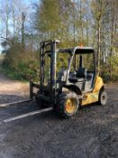 AUSA C150-H ROUGH TERRAIN FORKLIFT, YEAR 2006, RUNS, WORKS AND LIFTS *PLUS VAT*