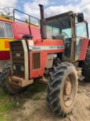 MASSEY FERGUSON 2640 RED TRACTOR, RUNS AND WORKS, SHOWING - 6489 HOURS *PLUS VAT*