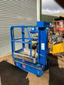 POWER TOWER SELF PROPELLED ELECTRIC LIFT, VERY EASY TO USE *PLUS VAT*