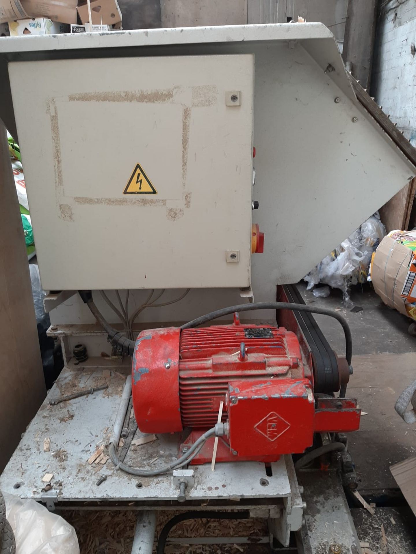 Lot 150 - VECOPLAN VAZ 70/80 BIOMASS WOOD SHREDDER, FULLY OPERATIONAL CAN BE SEEN WORKING *NO VAT*