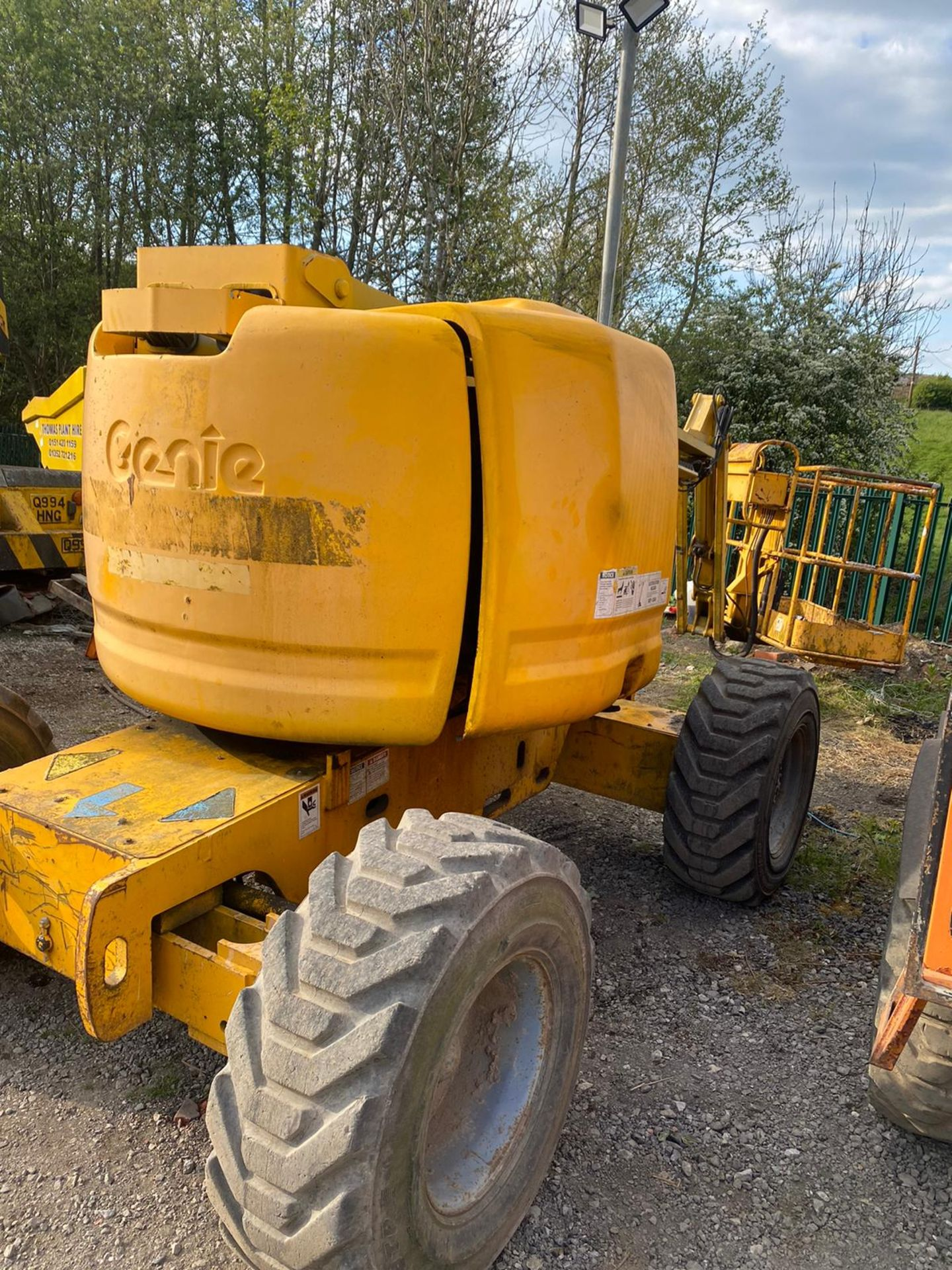 Lot 49 - GENIE Z45 ARTICULATED BOOM LIFT, 4 WHEEL DRIVE, RUNS, WORKS AND LIFTS, SHOWING 2657 HOURS *PLUS VAT*