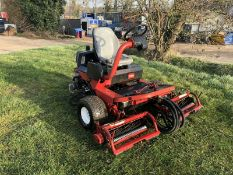 TORO 3200 DIESEL RIDE ON LAWN MOWER, HYDROSTATIC DRIVE, VERY SHARP TURNING CIRCLE, COLLECTION BOXES