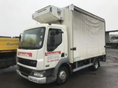 2002/52 REG DAF LF 45.150 7.5 TON REFRIGERATED CURTAIN SIDED BOX LORRY C/W TAIL LIFT *PLUS VAT*