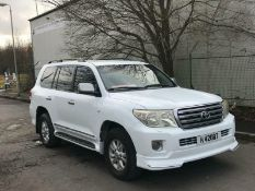 2008 TOYOTA LANDCRUISER LHD MANUAL PETROL LEFT HAND DRIVE 200 SERIES UK REG