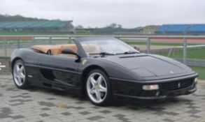 IMMACULATE 1999 FERRARI 355 F1 SPIDER WITH GENUINE LOW MILEAGE & FULL COMPREHENSIVE SERVICE HISTORY