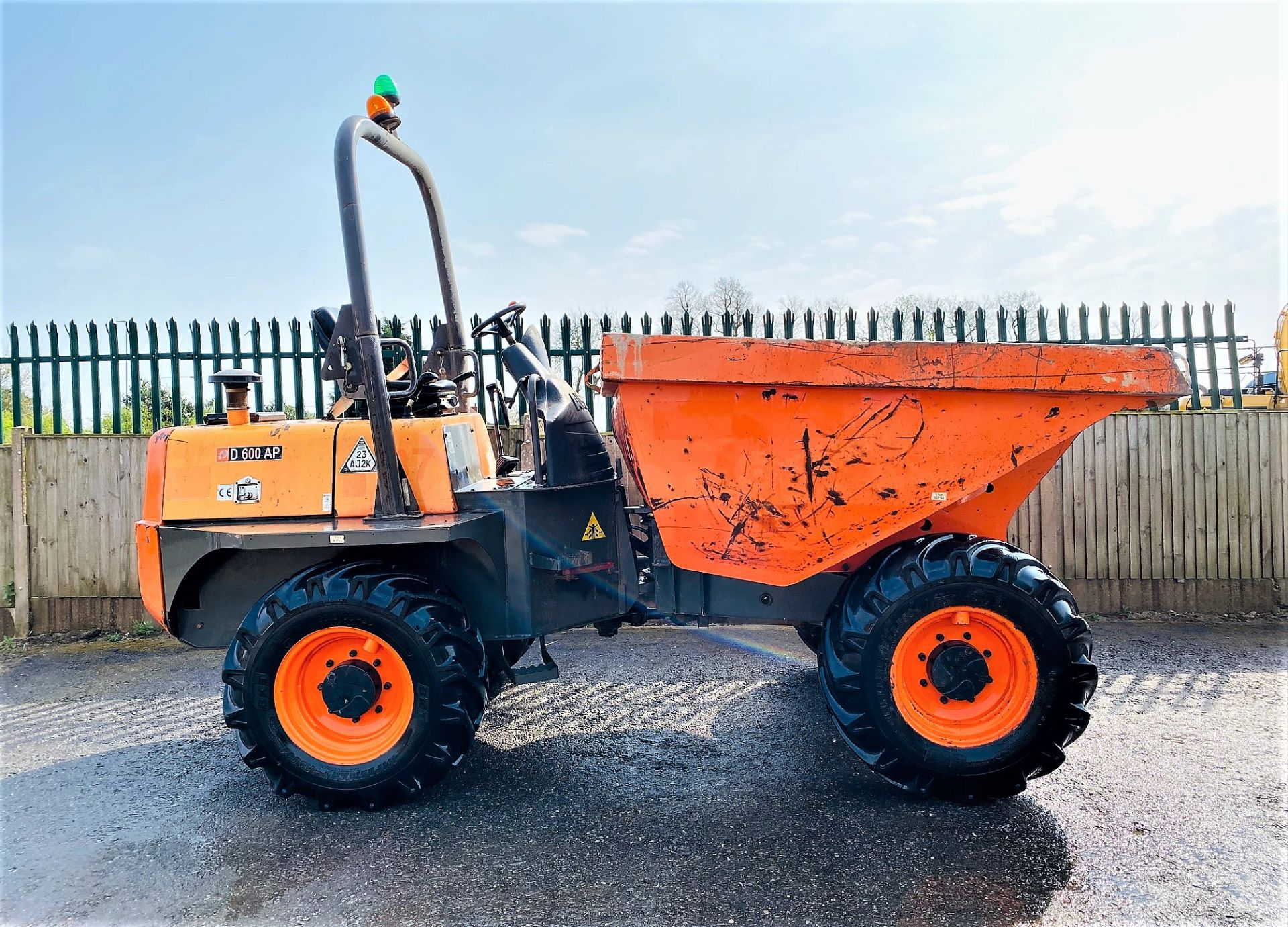 Lot 59 - AUSA D 600 AP 6 TONNE DUMPER, YEAR 2015, 1216 HOURS, GOOD TYRES, CE MARKED *PLUS VAT*