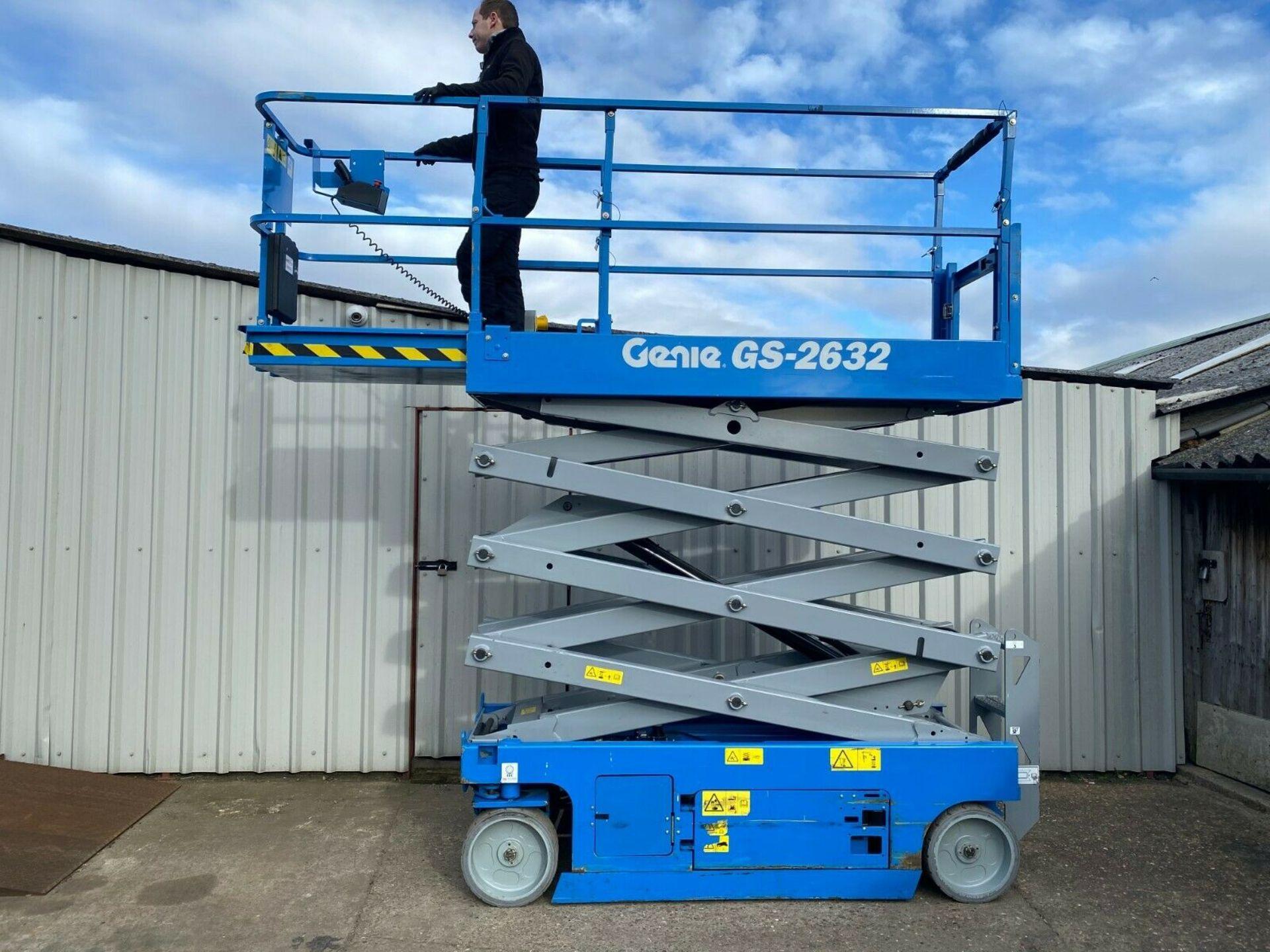 Lot 164 - GENIE GS-2632 ACCESS PLATFORM SCISSOR LIFT, YEAR 2014 *PLUS VAT*