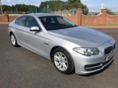 2015/65 REG BMW 520D SE AUTO 2.0 DIESEL 4 DOOR SALOON, SHOWING 0 FORMER KEEPERS *NO VAT*