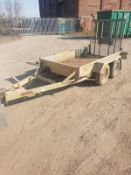 INDESPENSION TWIN AXLE PLANT TRAILER *PLUS VAT*