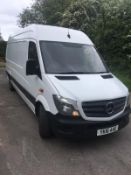 2016/16 REG MERCEDES-BENZ SPRINTER 310 CDI 2.2 DIESEL PANEL VAN, SHOWING 0 FORMER KEEPERS *NO VAT*