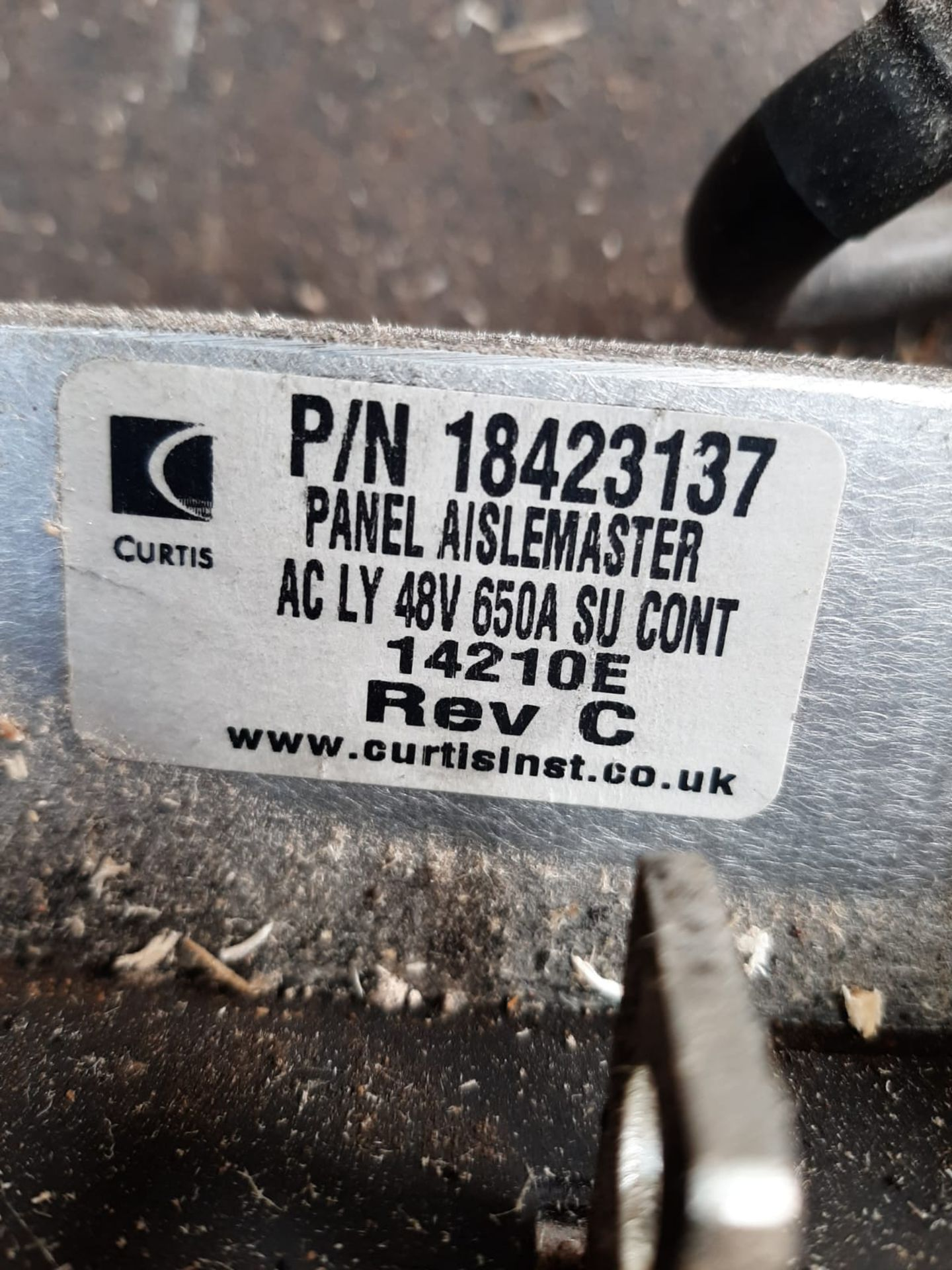 Lot 151 - AISLE MASTER WH20E 2014 ELECTRIC FORK TRUCK POWER BOARD CURTIS BOARD WITH INVERTER *NO VAT*