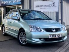 2004/04 REG HONDA CIVIC VTEC EXECUTIVE 1.6 PETROL 5DR HATCHBACK, SHOWING 0 FORMER KEEPERS *NO VAT*