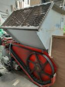 VECOPLAN VAZ 70/80 BIOMASS WOOD SHREDDER, FULLY OPERATIONAL CAN BE SEEN WORKING *NO VAT*