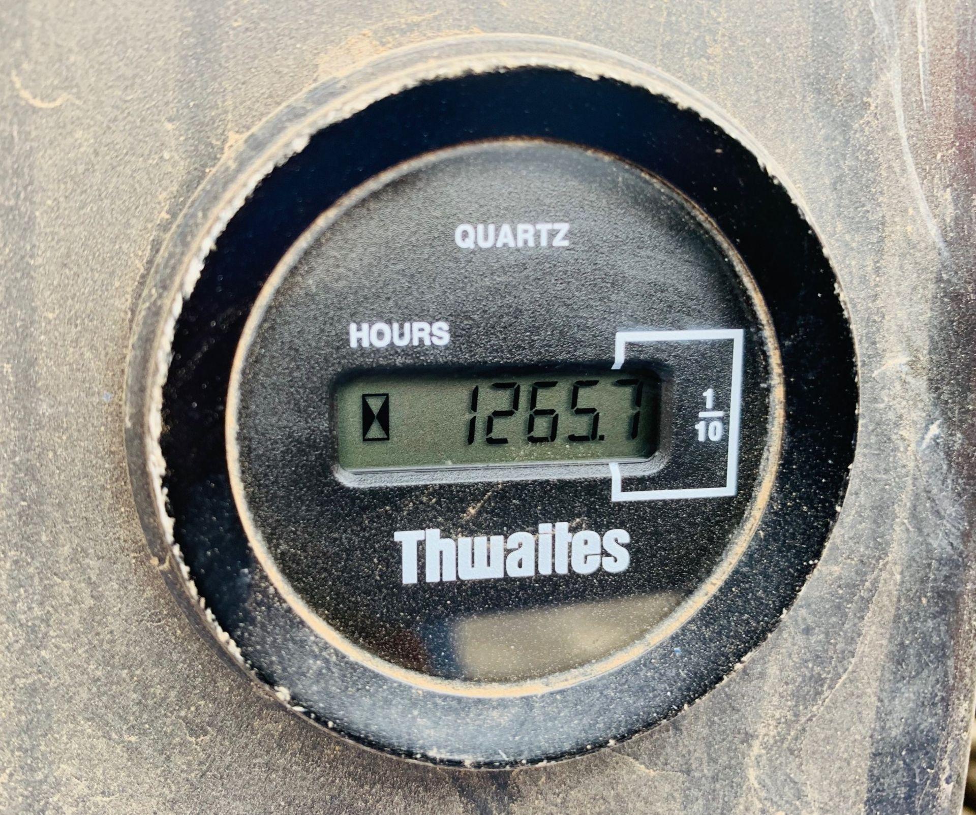 Lot 60 - THWAITES 3 TONNE SWIVEL TIP DUMPER, YEAR 2010, 1265 HOURS, GOOD TYRES, CE MARKED *PLUS VAT*