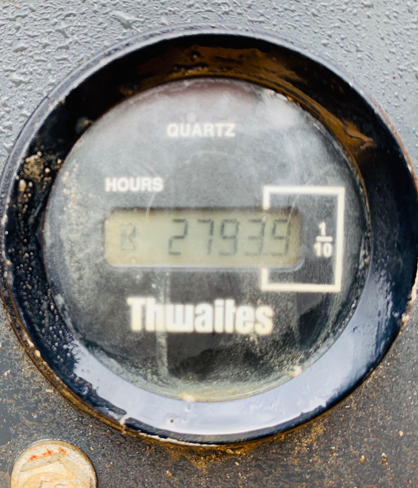 Lot 58 - THWAITES 6 TONNE STRAIGHT TIP DUMPER, YEAR 2008, 2794 HOURS, ORANGE & GREEN BEACONS, CE MARKED