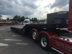 2004 CHIEFTAIN TRI AXLE LOW LOADER TRAILER, GOOD CONDITION, ALLOY RAMPS, AIR SUSPENSION *PLUS VAT*