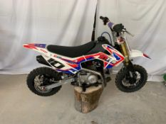 10TEN 90R SEMI AUTO 90CC MOTORCYCLE / MOTORBIKE *NO VAT*