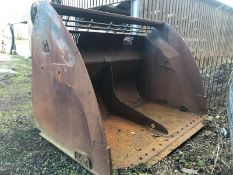 HI-TIP L150G 3M WIDE BUCKET TO FIT VOLVO 7000 LTR CAPACITY *PLUS VAT*