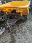 TURBOCAST 1000 CRUISER GRIT / SALT SPREADER SINGLE AXLE TOWABLE, YEAR 2009 *PLUS VAT*