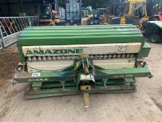 AMAZONE GNK 20 LANDSCAPE OVERSEEDER 2 METRE FOR BARE GROUND OR RESEEDING GRASSLAND *PLUS VAT*