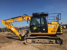 2014 JCB JS130LC TRACKED CRAWLER DIGGER / EXCAVATOR, SHOWING 5470 HOURS, RUNS, DRIVES & DIGS