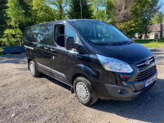 2015/64 REG FORD TRANSIT CUSTOM 270 TREND ETE 2.2 DIESEL PANEL VAN, SHOWING 0 FORMER KEEPERS
