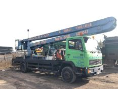 1991/J REG MERCEDES WOERTH MEDIUM CVS 1314-13 SCISSOR LIFT TWIN WHEEL LORRY *PLUS VAT*